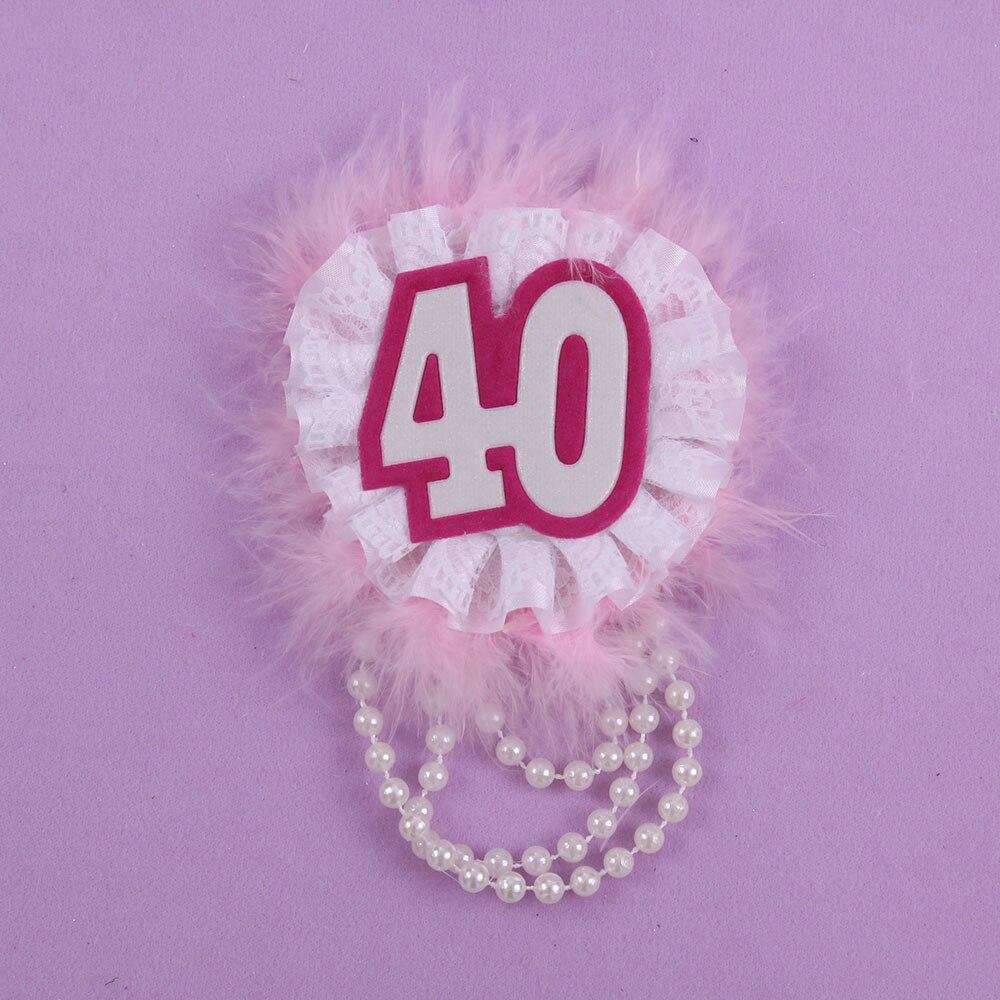 30 Compleanno Donna Distintivo 50 Di Sconto Per 3 Pz Dolce Regalo