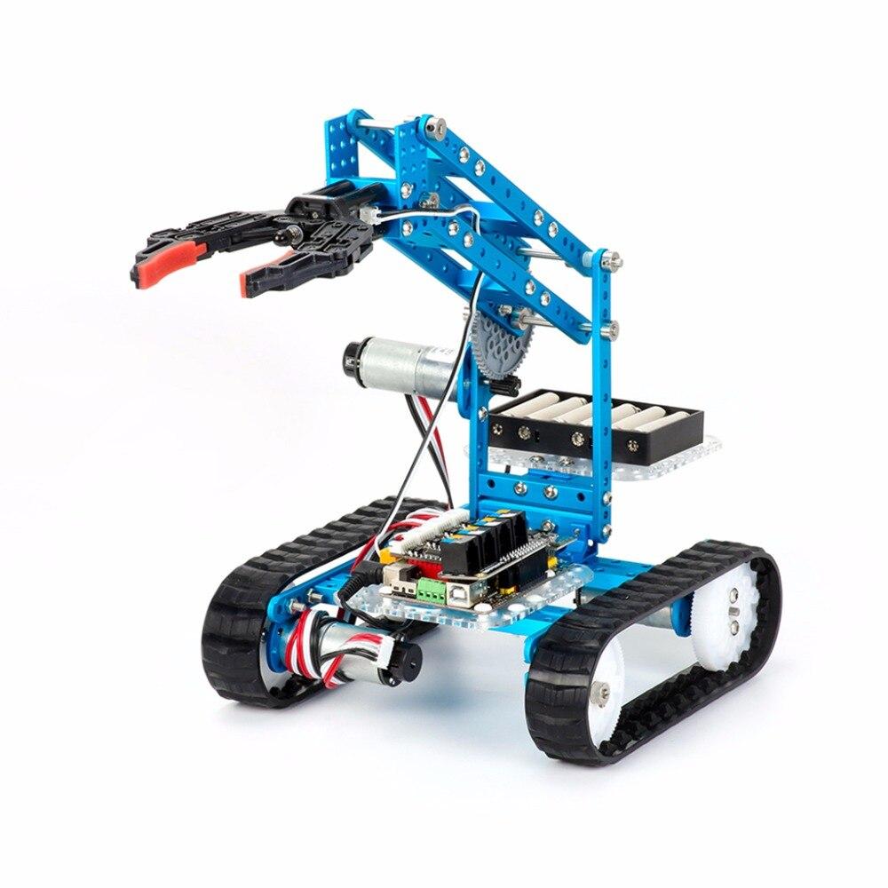 486 49 Makeblock Ultimate 2 0 10 En 1 Diy Graphique Programmation Educatifs Robot Kit Bleu Dans Action Figurines De Jouets Et Loisirs Sur