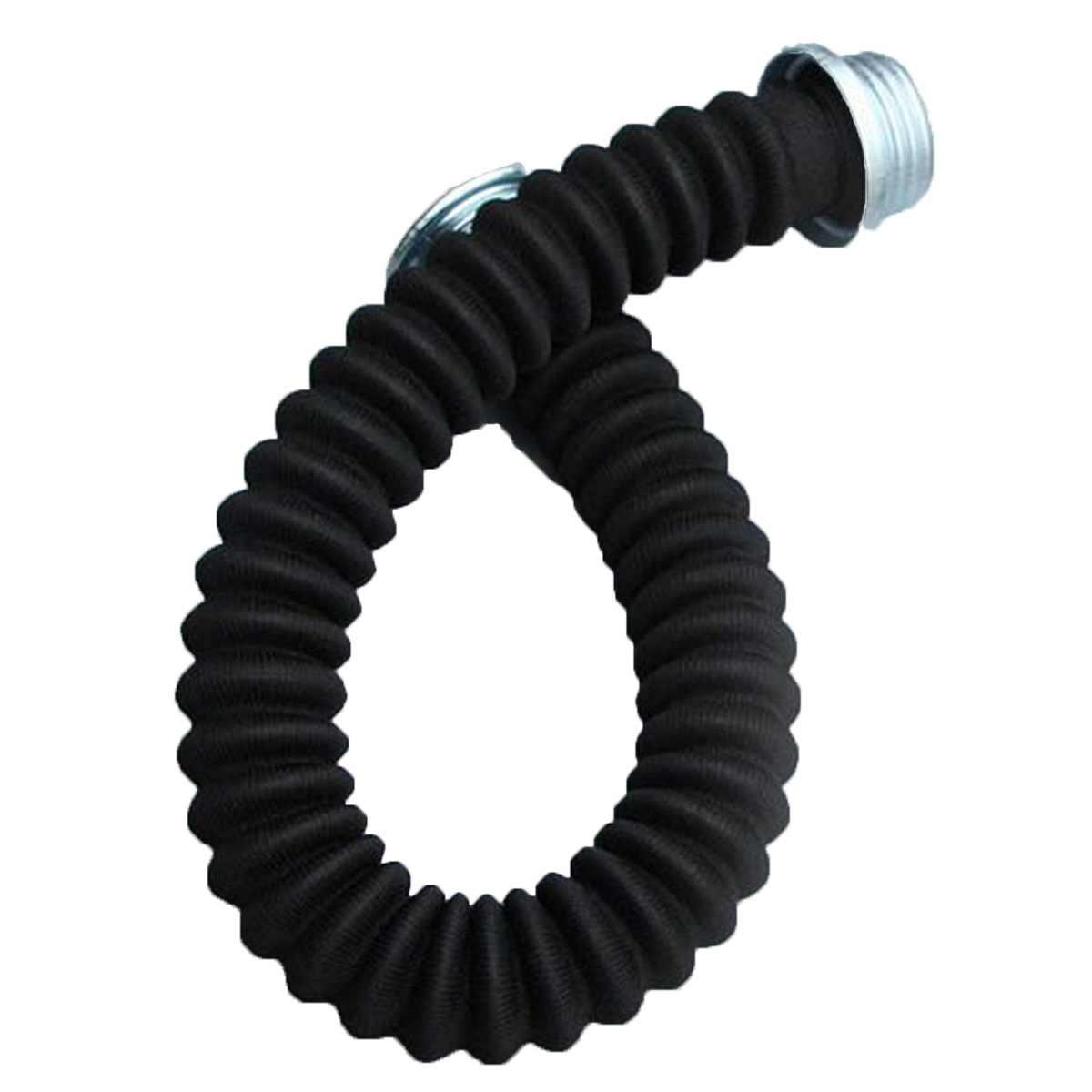 50 cm Universal Black Rubber Gas Masker Slang Buis Verbinding Tussen Gas Masker En Filter Cartridge Beschermende Masker Deel Accessoire