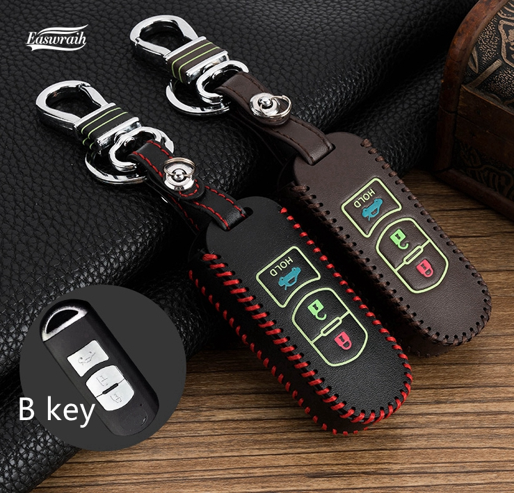 Gift Car Luminous Key Cover Case For Mazda 6 M2 M3 M5 M6 Axela CX-5 CX-7 CX-9 AXELA Atenza Key 2/3 Button Key Chain Bag Holder цены онлайн