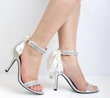 2015 Summer Fashion Women's princess sandals PU stiletto heels Shoes Wedding Bridal Dress Shoes Lady Party Evening Prom Shoes