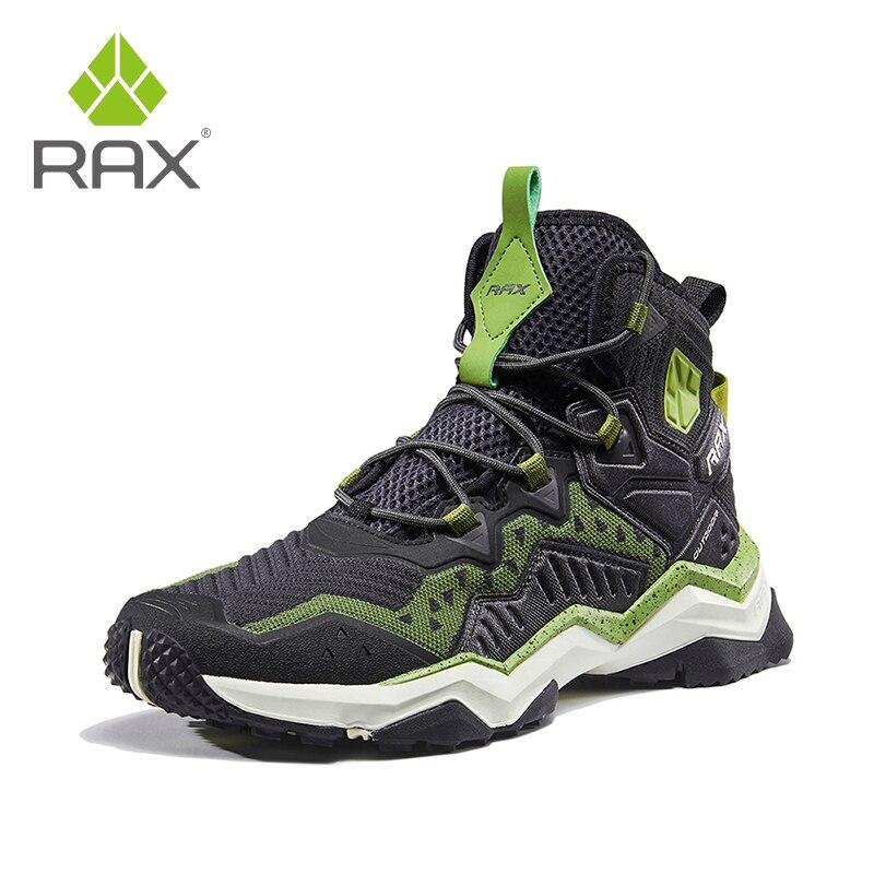 Rax hommes chaussures de randonnée femmes respirant bottes de montagne en plein air Trekking bottes sport baskets bottes légères chaussures tactiques