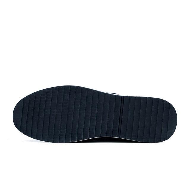 Hombre Surom Los Zapatos Moda Primavera Mocasin Mocasines Hombres Otoño Casual Lujo De Cuero Shoes Marca xrqYCTwZr