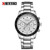 8017 CURREN Men Watches Top Brand Luxury Men Military Wristwatches Full Steel Men Sports Waterproof Watch