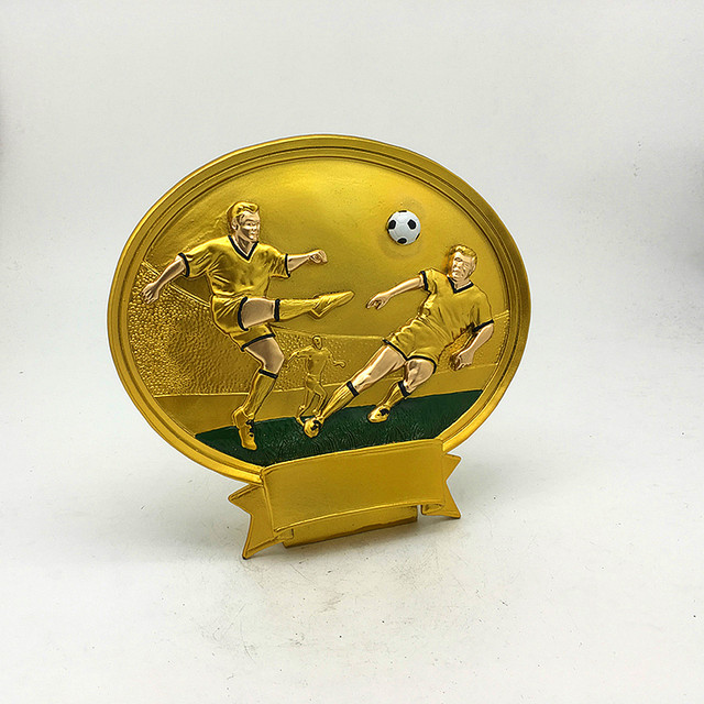 online shop new resin trophies high grade football trophies medals