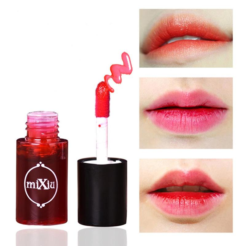 Multifunction Lip Tint Dyeing Liquid Lip Gloss Beauty Lips Makeup Lipstick