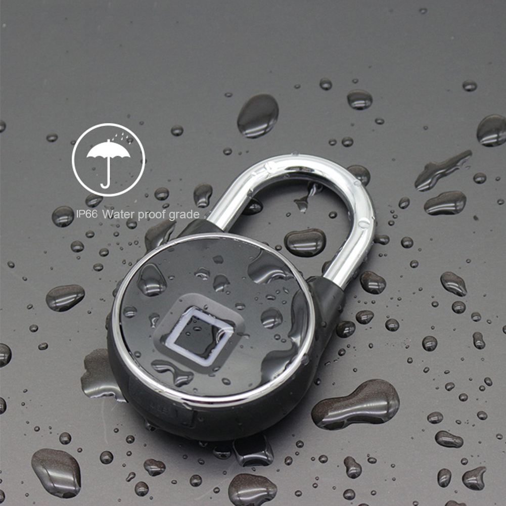 Anti Theft Waterproof Fingerprint Lock Mini Smart Padlock USB Rechargeable Backpack Travel Security Home Portable KeylessAnti Theft Waterproof Fingerprint Lock Mini Smart Padlock USB Rechargeable Backpack Travel Security Home Portable Keyless