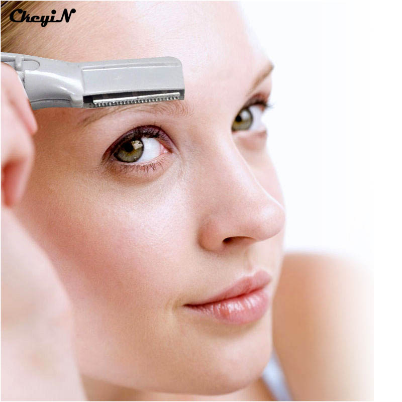 Fanshion Lady/Girl's <font><b>Electric</b></font> Shaver Bikini Eyebrow Shaver Trimmer <font><b>Hair</b></font> <font><b>Removal</b></font> <font><b>Pink</b></font> Color Razor EEBT04-P4346