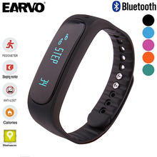 EARVO E02 Smartband Smart Band Wristband Fitness Bracelet Tracker Bluetooth 4.0 Flex Sport Running Smart Health for ios android
