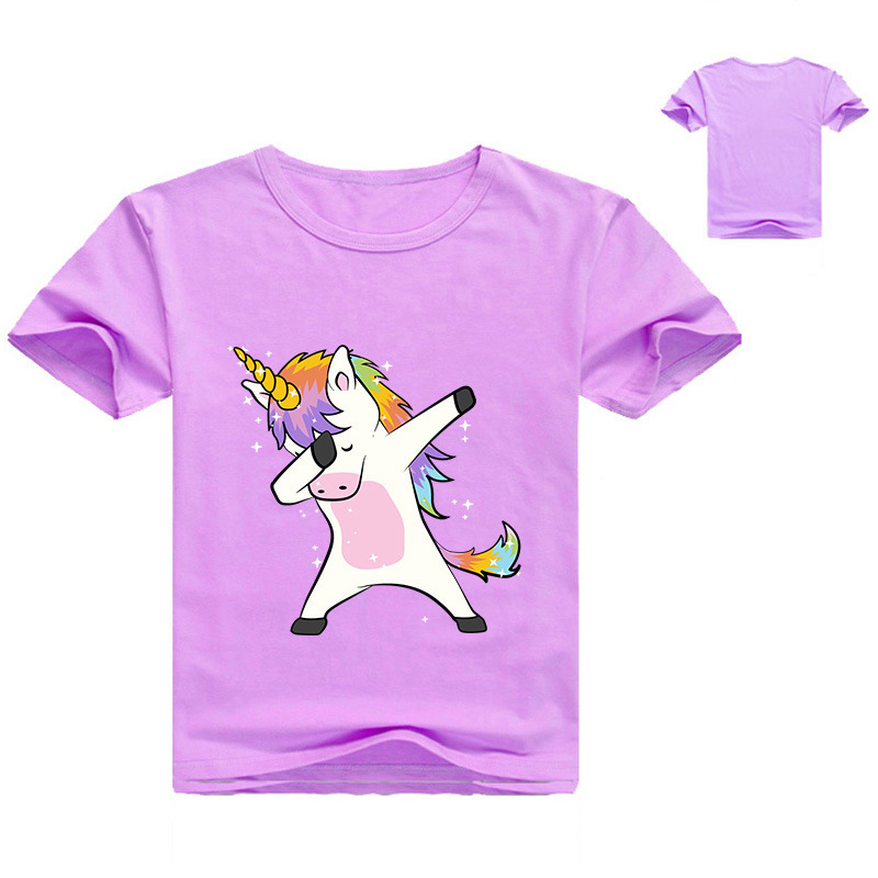Z Y 2 16Y Dabbing Pug T Shirt Cute Funny Dog Jongens Tshirt Summer Tops Girls T Shirt Fashion Cartoon Printed Hip Hop Tee Shirts in T Shirts from Mother Kids
