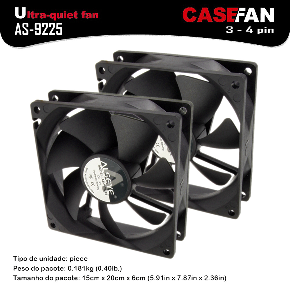 ALSEYE 2pieces 90mm fan for computer case / cpu fan radiator DC 12v 0.2A 1800RPM 3-4pin hydraulic bearing cooling fan reliable dropshipping do csv quiet 120mm dc 12v 3 4pin led effects clear computer case fan for radiator mod