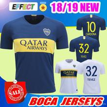 3252a6702 Thailand AAA Quality 2018 19 Argentine Super League Boca Juniors Soccer  Jerseys 18 19 GAGO 5 CARLITOS TEVEZ HOME AWAY football