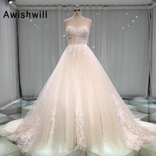 Awishwill Vestidos de Novia Wedding Dress 2019 A-line
