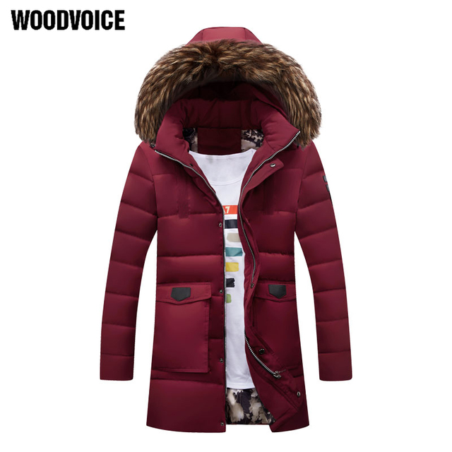 63ab3cb634b New Hooded Windbreaker Man Jacket Detachable Fur Loose Long Trench Coat Men  Jacket Comfortable Plus Size 4XL Overcoat male homme