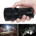 10000 lumen taschenlampe xhp70 Fotografie video füllen licht 4X18650 ladung batterie wasserdichte camping angeln taschenlampe flash licht
