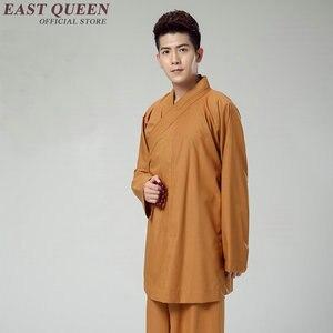 Image 5 - Стандартная буддийская одежда для монахов, традиционная китайская буддийская одежда KK1601 H