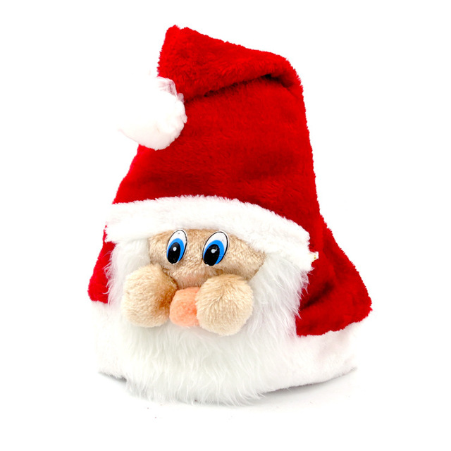 1pc High Quality Christmas Santa Claus Red Hats Caps For Adult And Children XMAS  Decoration New Year s Gifts Home Party Supplies 6e7014715d53