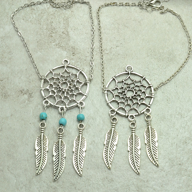 Aliexpress Buy New fashion accessories jewelry chain link Stunning Dream Catcher Charm Bracelet