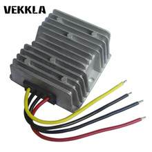 Auto Langkah Up/Down Power Supply Converter DC 12 V untuk 12 V 5A 60 W Tahan Air Modul DC konverter Adaptor I5(China)