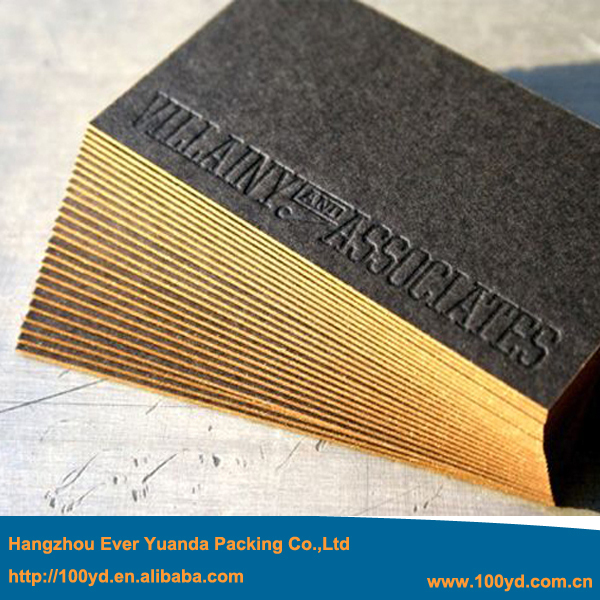 Hot sale business cards 2015 high end customized black cardboard hot sale business cards 2015 high end customized black cardboard debossed business card luxury gold reheart Images