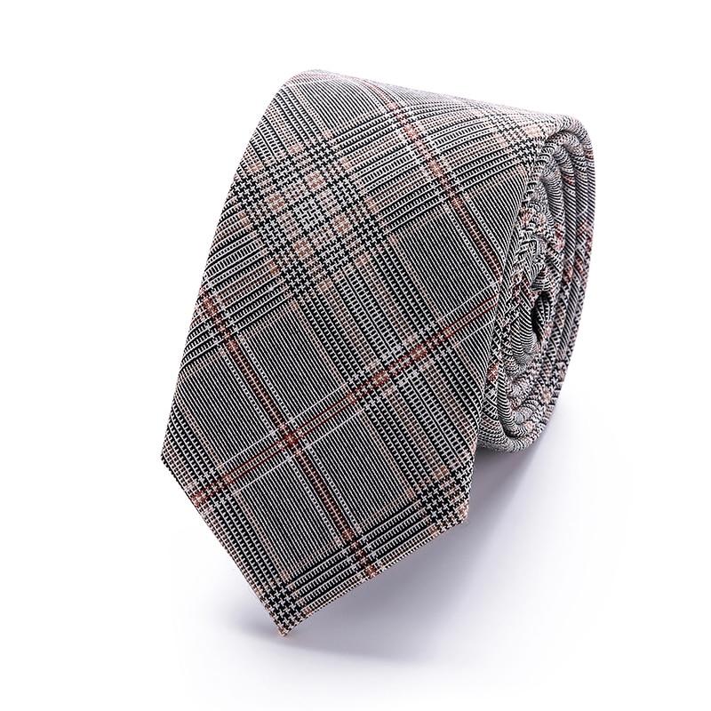 2018 Modemerk slanke 6 cm stropdas smalle katoenen stropdas voor - Kledingaccessoires - Foto 6