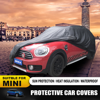 New Car Outdoor Protective Accessories MINI COOPER Car covers Dust-proof Sunproof Car Covers For MINI COOPER ONE F55 F56 R60 F60