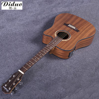 NEW Guitars 41 Inch High Quality Picea Asperata Acoustic Guitar Rosewood Fingerboard Guitarra With Guitar Strings