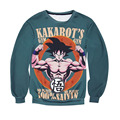 New Autumn Winter Men's Sweatshirt 3d Graphic Character Print Animal Pokemon Dragon Ball Anime Hoodies Popular Couple Clothing