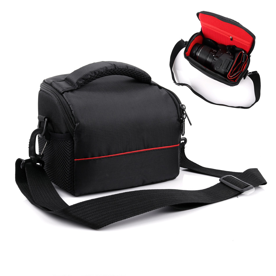 Camera Bag <font><b>Case</b></font> Photo Shoulder Bag For Panasonic <font><b>LUMIX</b></font> GX85 FZ80 FZ82 LX15 LX10 <font><b>LX100</b></font> LX7 GX80 GF9XGK GF9 GF8 GF7 GX1 GX7 GX8 image