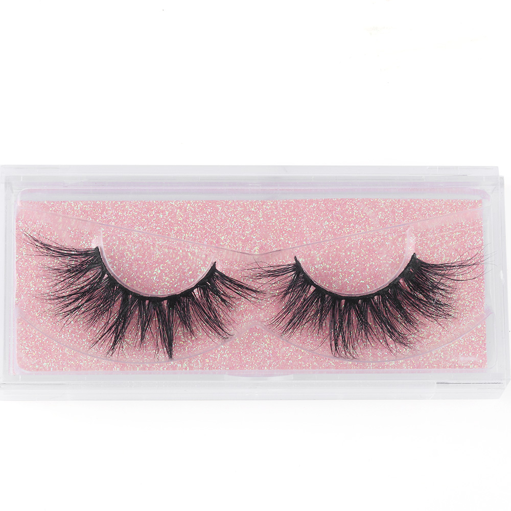 False Eyelashes Beauty Essentials 1pair 100% Real Mink Hair 3d Volume Crisscross False Eyelashes Fluffy Cruelty Free Wispy Long Eyes Lashes Extension Makeup Tools High Quality Materials