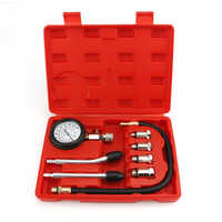 Automotive Test Kit Gasoline Compression Auto Petrol Gas Engine Cylinder