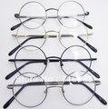42mm 4 peças/lote Retro Óculos de Armação De Óculos Vintage Harry Potter Rodada Quadros de Óculos Black Gold Gun Cinza Prata Optical RX