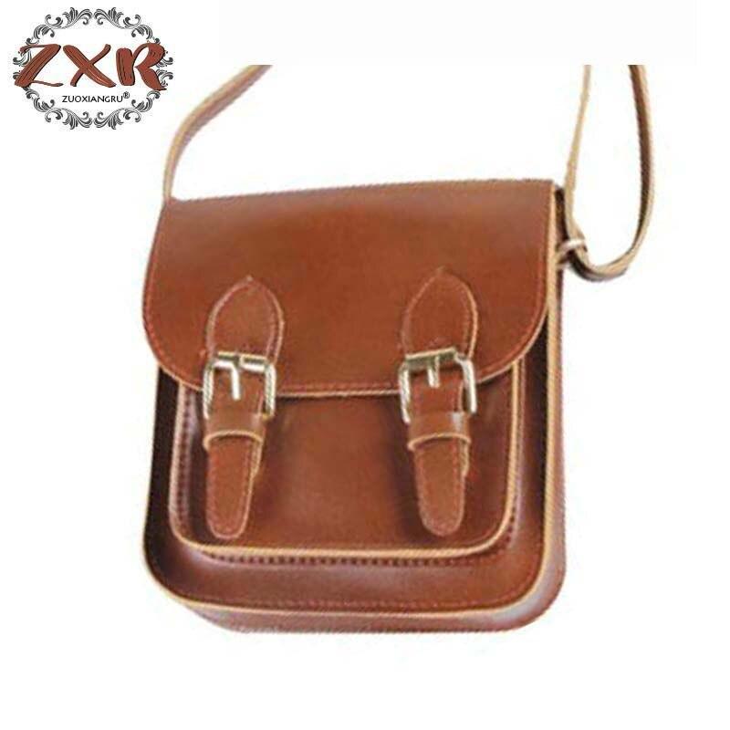 Новый Для женщин Винтаж PU Дамская сумочка Высокое качество Ретро Для женщин Курьерские сумки Англия Стиль кожа Портфели сумка