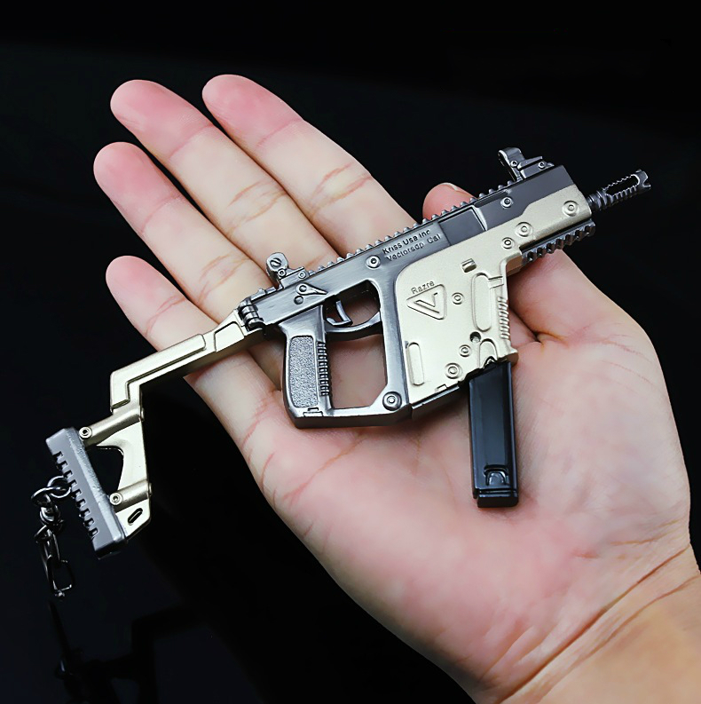 1 Stücke 14,5 Cm Waffe Vector Maschinenpistole Modell Heißer Spiele Um Waffe Wissen Sammlung Eine Teammate Der Geschenk Jsuny