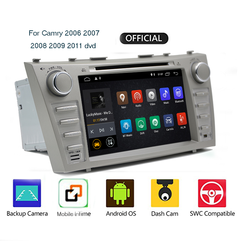 Video-Player Multimedia Navigation Car-Radio Wifi Android 9.1 2008 2 Din Toyota Camry