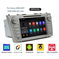 For Toyota Camry 7 40 50 2006 2011 Car Radio Multimedia Video Player Navigation GPS Android 9.0 No 2din 2 din dvd