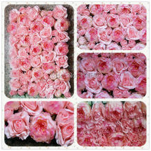 SPR Free Shipping  Artificial peony rose flower wall wedding backdrop flower decorations road lead home market flower