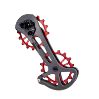 Ztto Carbon Bike Derailleur Cage With 16T Ceramic Jockey Wheel 16T Oversize Lower Pulley For Road Bike