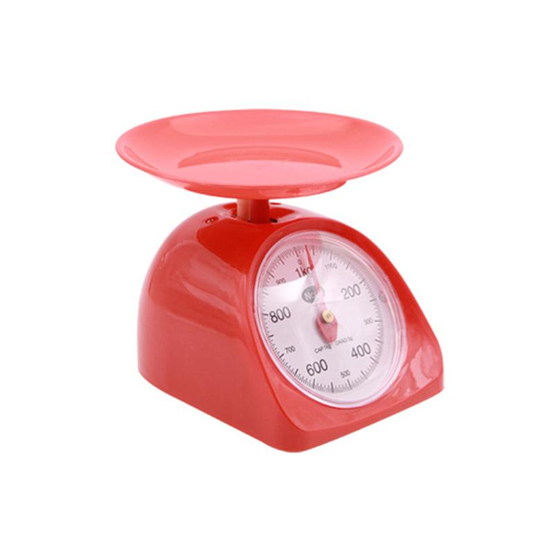US $11.63 44% OFF|1KG Retro Round Kitchen Weighing Scale Kitchen Utensil  Accuracy Food Scale-in Kitchen Scales from Home & Garden on AliExpress