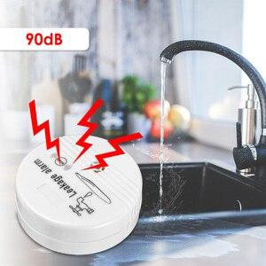 Image 3 - Detector de fugas de agua inalámbrico, sistema de alarma de seguridad para el hogar, 90db