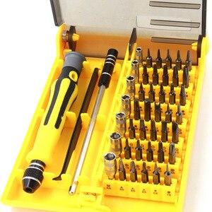 Image 4 - 45 in 1 Torx Hassas Tornavida Seti cep telefonu Laptop Tamir Aracı Kiti küçük tornavida seti Çok Bit Araçları