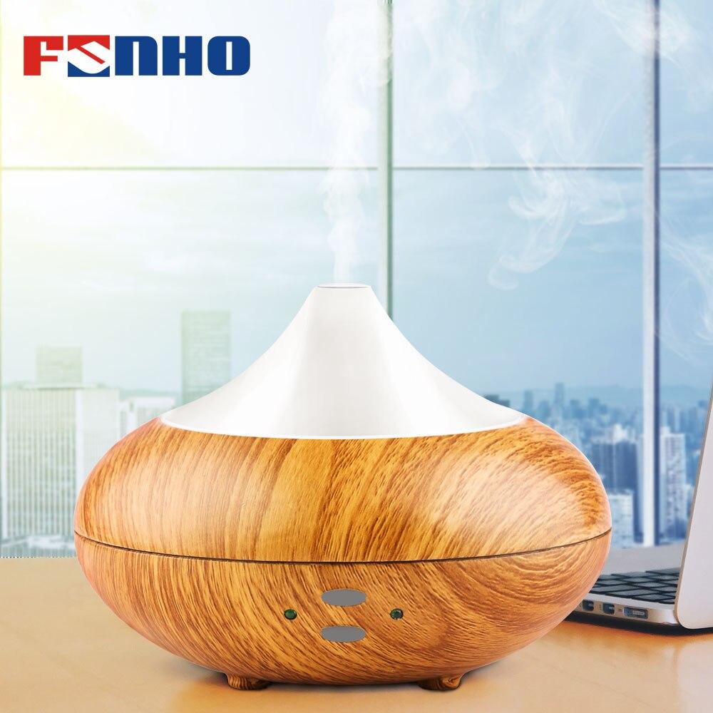 FUNHO Aroma humidificador de aire difusor de aceite esencial de carga USB Luz de la noche de vapor, fabricante de la niebla aromaterapia para casa 507