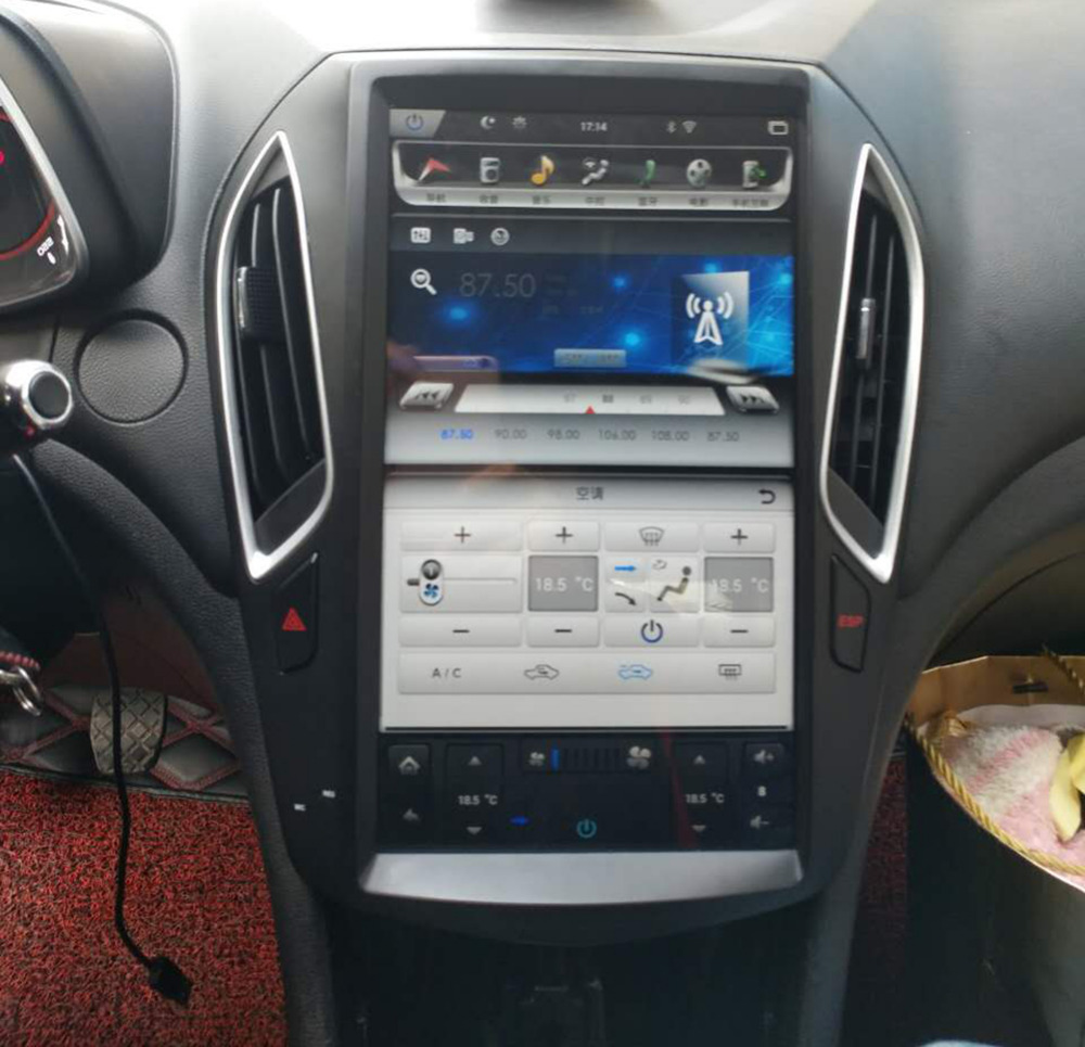 14 Quot Vertical Screen Tesla 1024 768 Android Car Dvd Gps