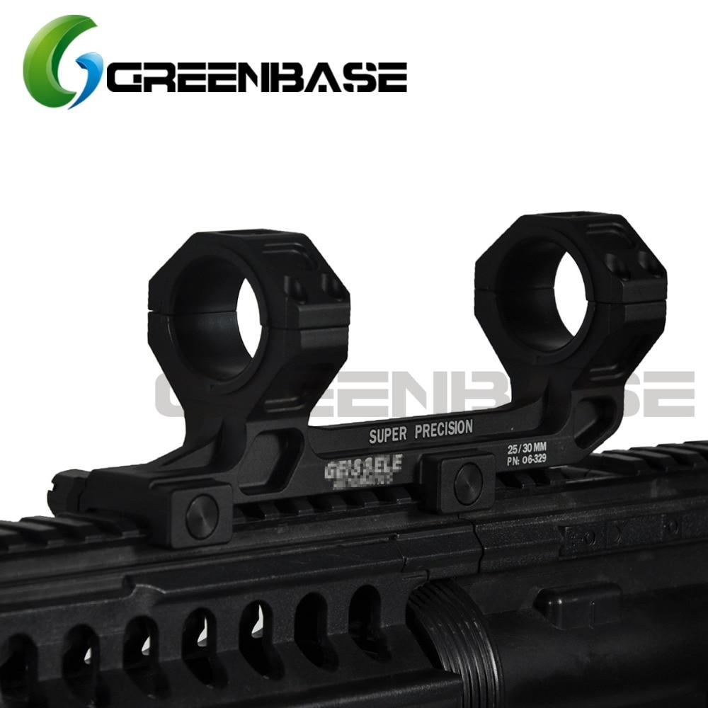 Greenbase Tactical AR15 M4 M16 Ge Hunting Scope Mount Gun Rifle Optic Mount 25.4mm/30mm QD Rings Mount For 20mm Picatinny Rail element larue tactical spr m4 scope mount qd