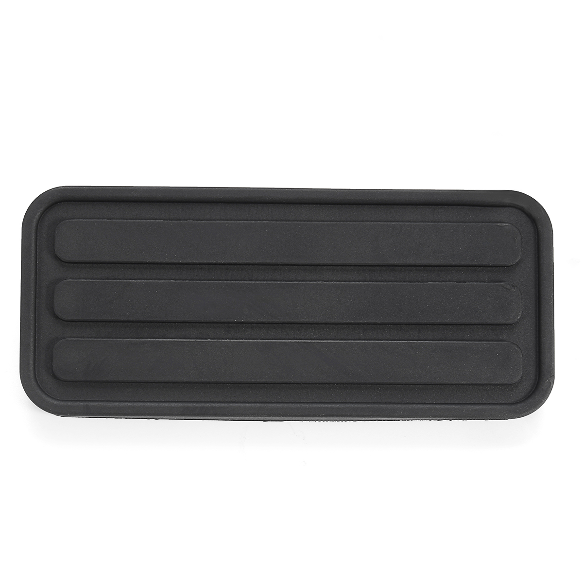 Black Rubber Brake Clutch Pedal Pad Covers Trans Vehicles For VW Transporter T4 Accelerator Gas 1990 - 2003 171721647