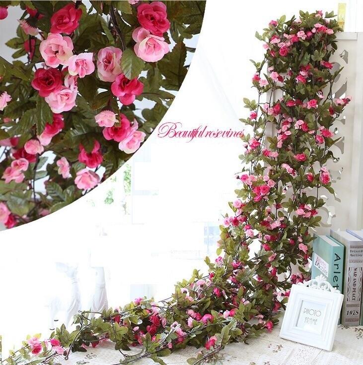 Wisteria Rose Vine Flower Garland Long Wisteria 2 3m