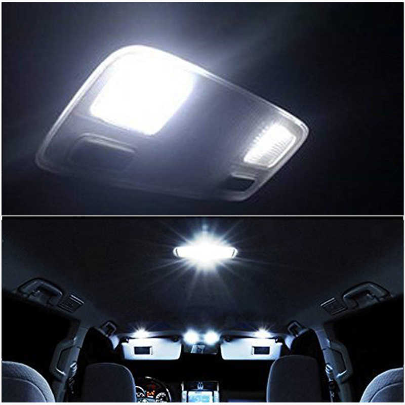 1 PC Car Reading Lamp COB Panel 12V 48 SMD LED T10 W5W 194 Auto Interior Dome Light With 31mm 36mm 39mm 41mm Adapted Festoon