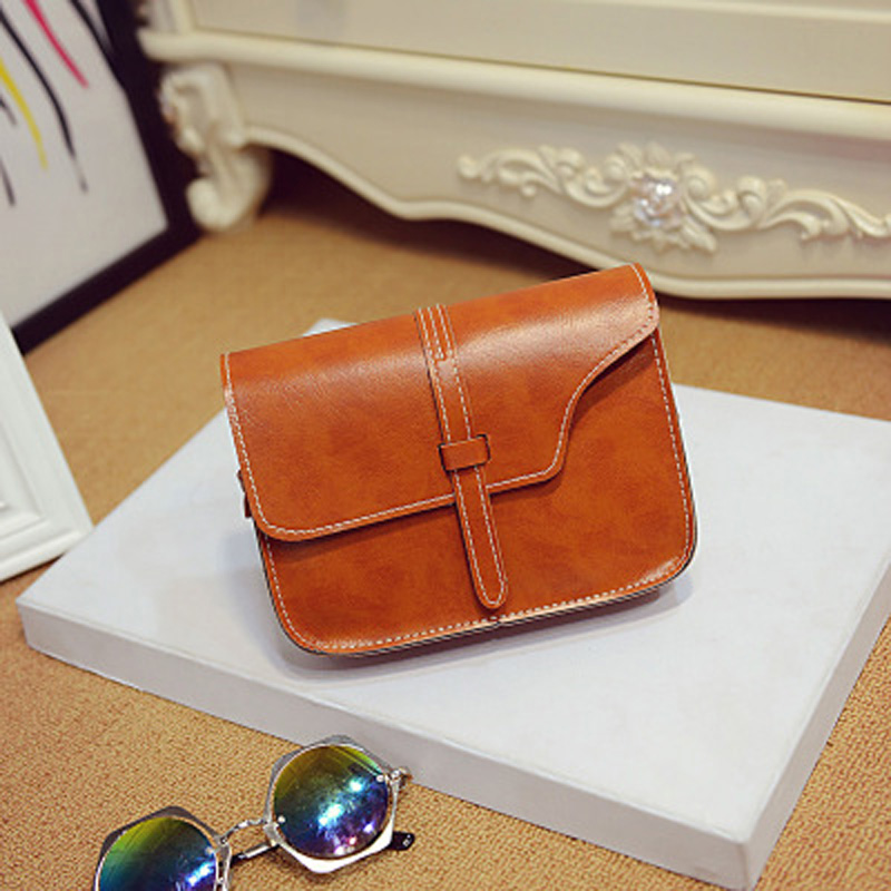 Womens bag 2018 new fashion PU small bag Womens hand shoulder bag with one shoulder