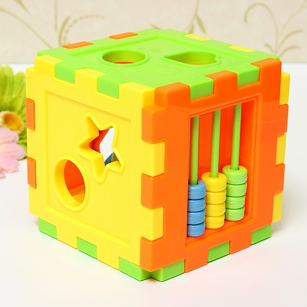 Baby Block Toy Box : New colorful baby block toys plastic children s