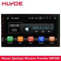 KLYDE 4 г Octa Core Android 8 4 ГБ + 32 ГБ 2Din Универсальный dvd плеер автомобиля радио для Nissan 350Z X trail Солнечный Patrol Versa Micra NV200